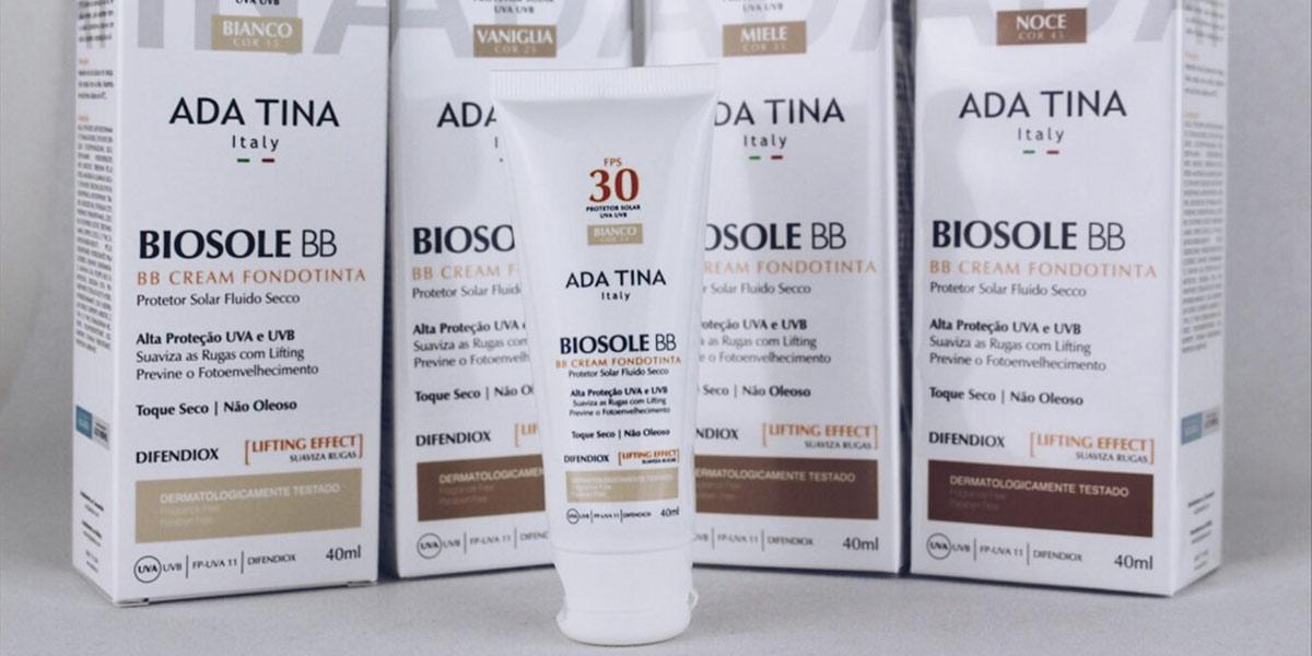 BB Cream Ada Tina Biosole FPS 30- Dicas da Jaque