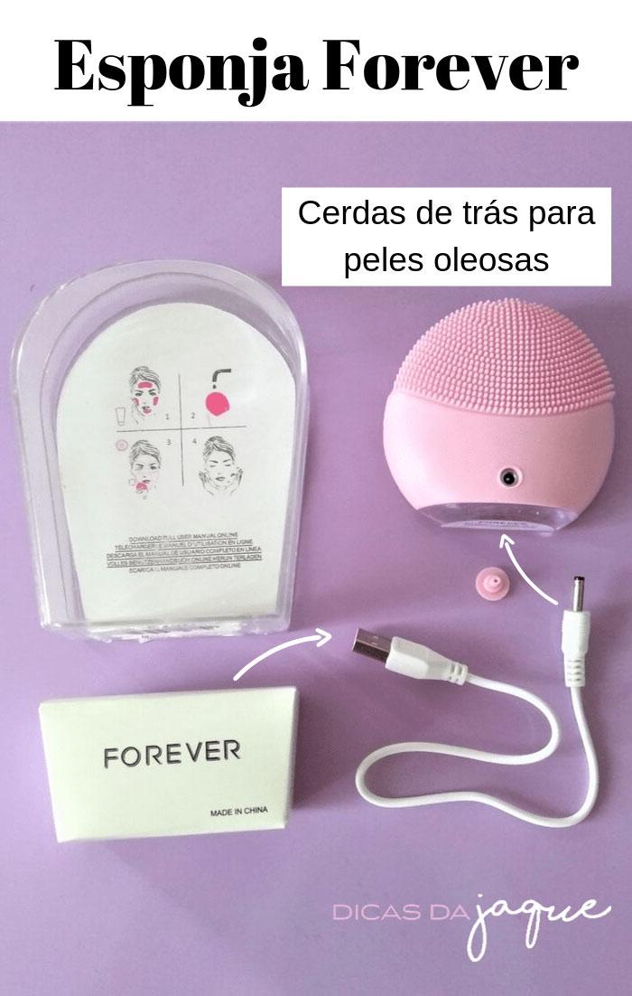 Como carregar esponja Forever- Dicas da Jaque