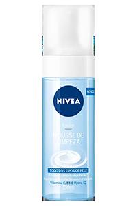 Mousse de limpeza Nívea para todos os tipos de pele- Dicas da Jaque