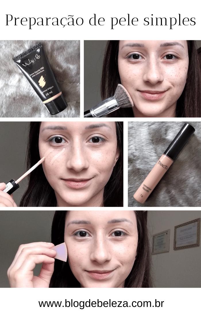 Maquiagem simples para noite passo a passo- Dicas da Jaque