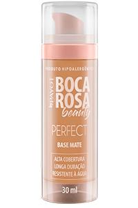 Resenha da base Boca Rosa Beauty- efeito mate
