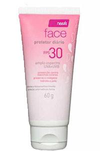Protetor solar facial Needs FPS 30- Dicas da Jaque
